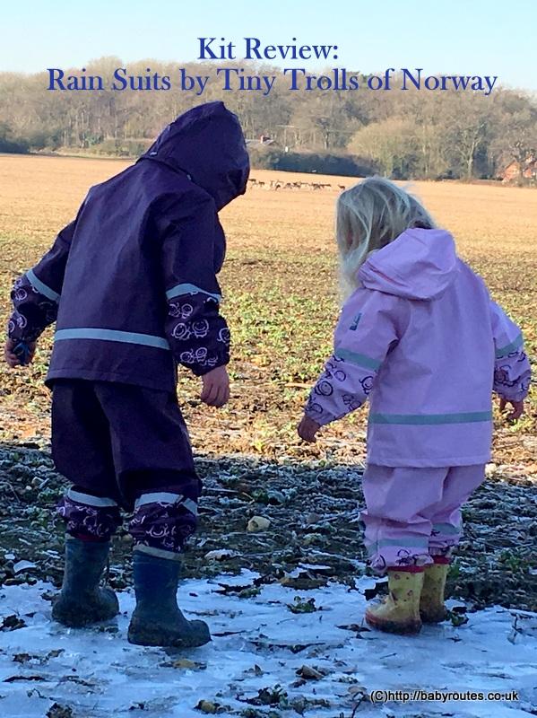 Tiny Trolls of Norway Rain Suit Review