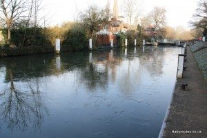 Lock at Sonning (& teahouse location!)