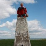 Trig Point, Uffington Castle