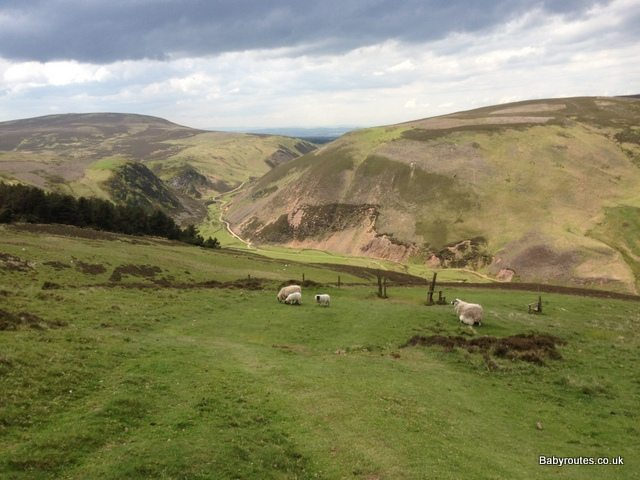 Walking routes in the Pentland Hills