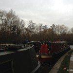 Regents Canal Walk from Kings Cross to Regents Park: narrowboats