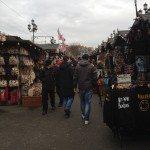 Camden Market from Regents Canal Walk