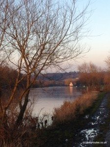 View of Temple Island from the Thames Path, Henley-on-Thames