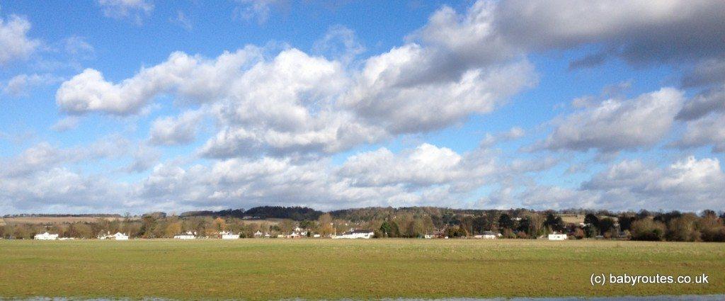 Riverside meadows, Cookham