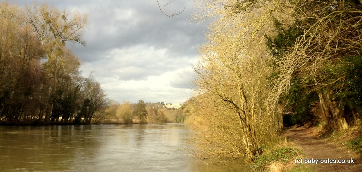 Thameside strolling on the Cliveden Estate, Buckinghamshire