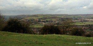 Views over rural Bath, Bath Skyline Walk, Bath