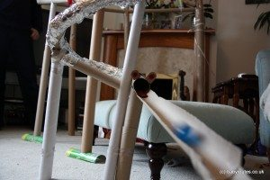 The frog's mouth...marble run