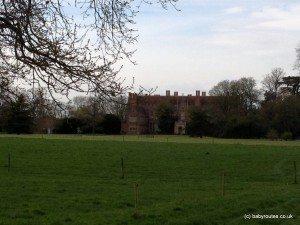 Back of Mapledurham House