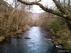 Fingle Bridge Walk, Dartmoor