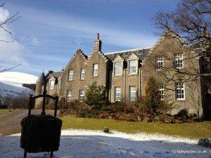 Dalmunzie Hotel , Spittal of Glenshee, Cairngorms, Dalmunzie Hotel Pushchair Walk