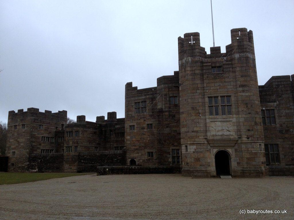 Castle Drogo, National Trust, Dartmoor, Devon