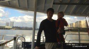 Thames Clipper, Boat ride, London