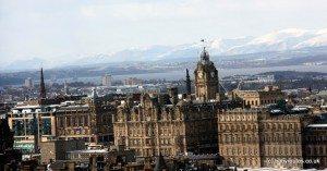 Snowy Edinburgh