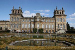 Formal Gardens, Blenheim Palace, Oxfordshire