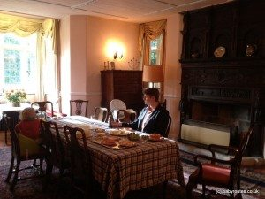 Dining room Haremere Hall