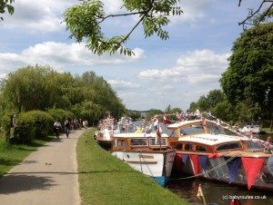 Thames Path into Henley on Thames