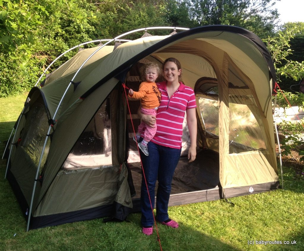 Ten Top Tips For Buying A Family Tent Baby Routes