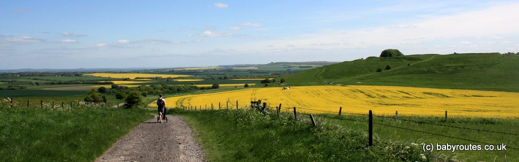 Broad Hinton to Barbury Castle Ridgeway