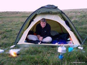 Old tent Dartmoor