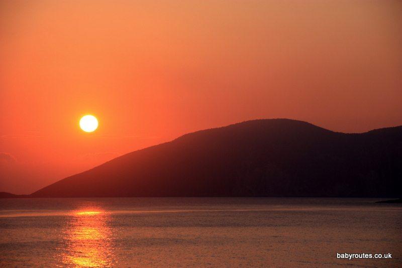 Sunrise, Kefalonia, Greece