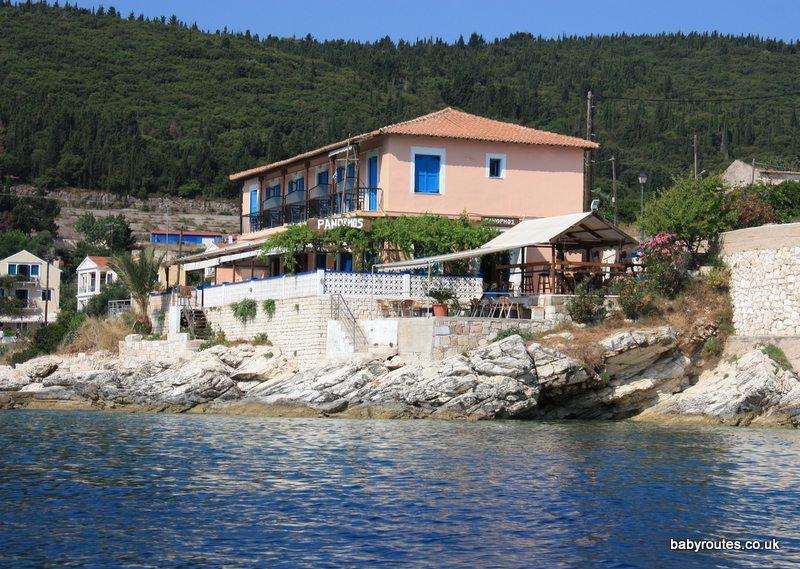Panormos Taverna, Fiskardo, Kefalonia, Greece