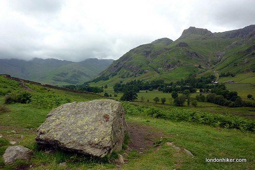 Langdale valley view, Lake District