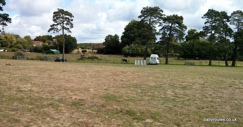 Pondhead Farm Campsite, Lyndhurst, New Forst