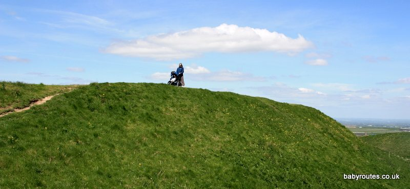 BOB Sport Utility Stroller, The Ridgeway, Barbury Castle
