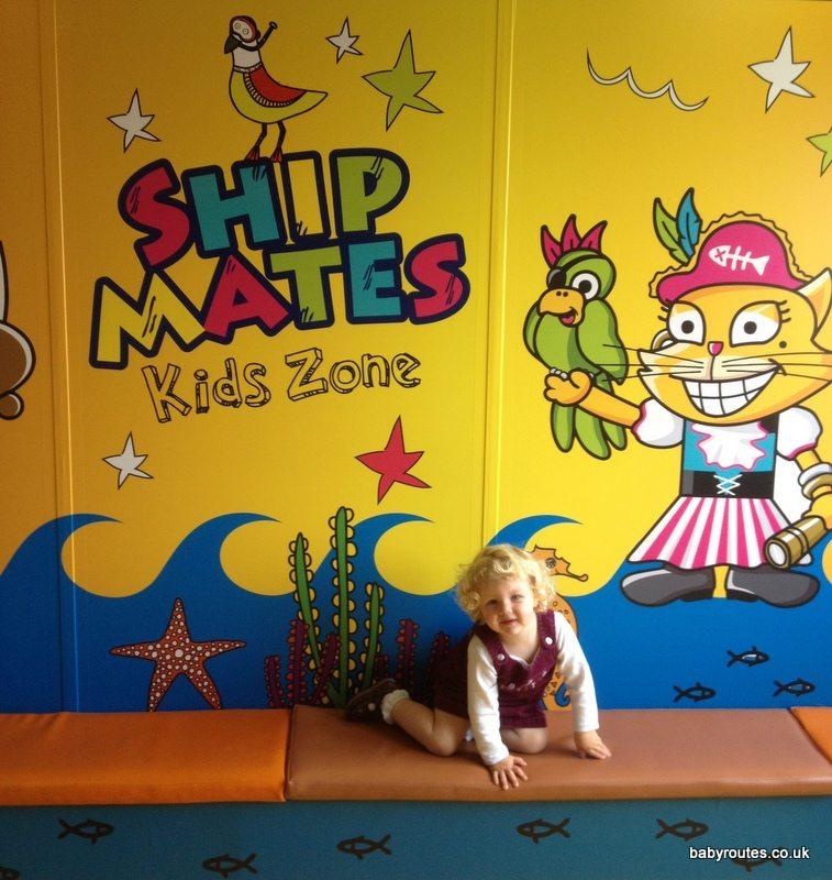 Kids Zone on Condor Ferries