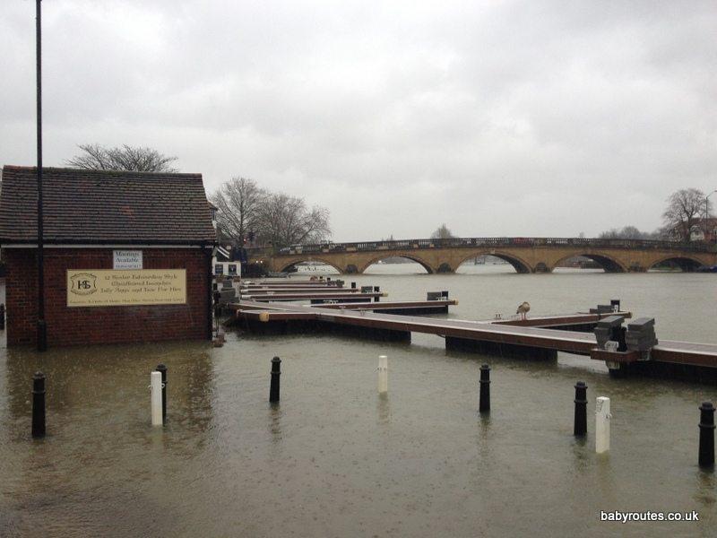 Henley on Thames flooded