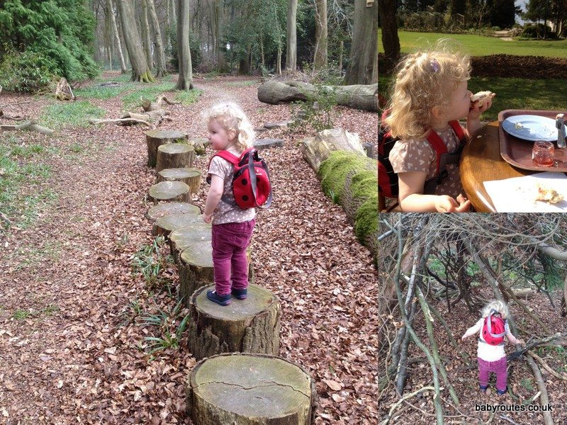 Den building & cream tea at Nuffield Place