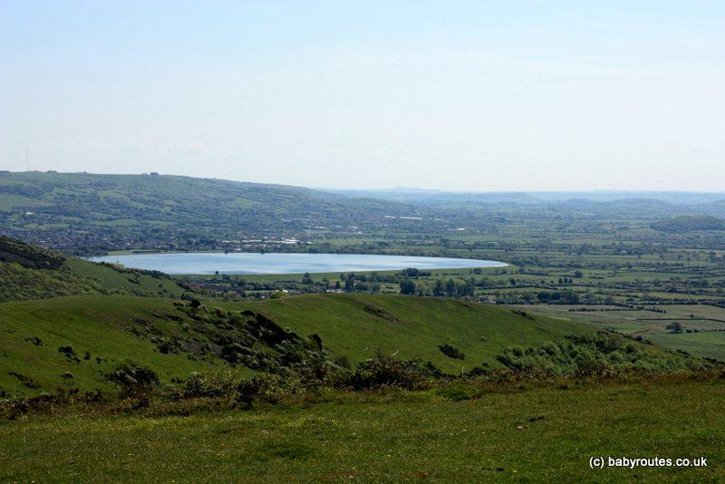 Cheddar Reservoir, Wavering Down Walk