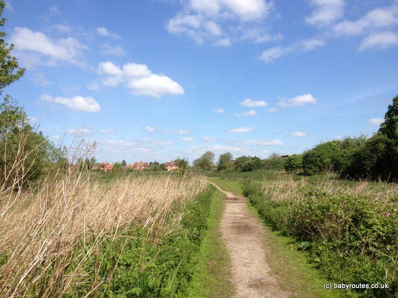 Approaching South Stoke