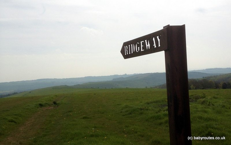 Barbury Castle to Ogbourne St. George Ridgeway Walk