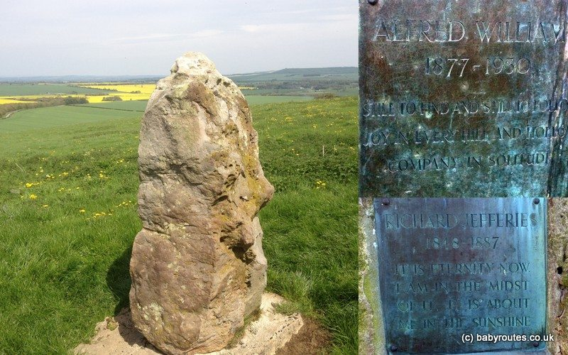 Memorial to Richard Jefferies and Alfred Williams
