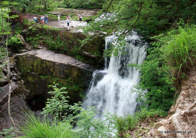 Sgwd Clun-Gwyn Waterfall, Brecon Beacons