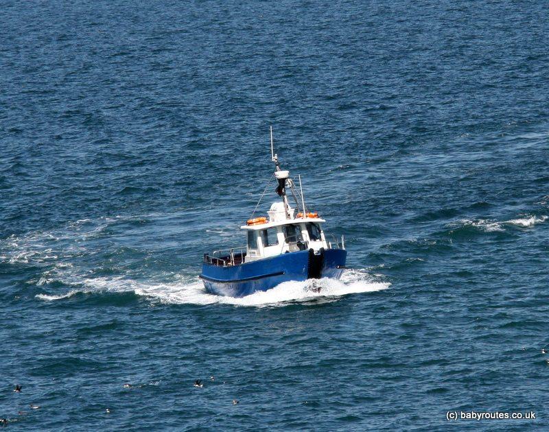 The Dale Princess, Skomer Island boat ferry