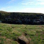 The Wick, Skomer Island, Pembrokeshire, Wales