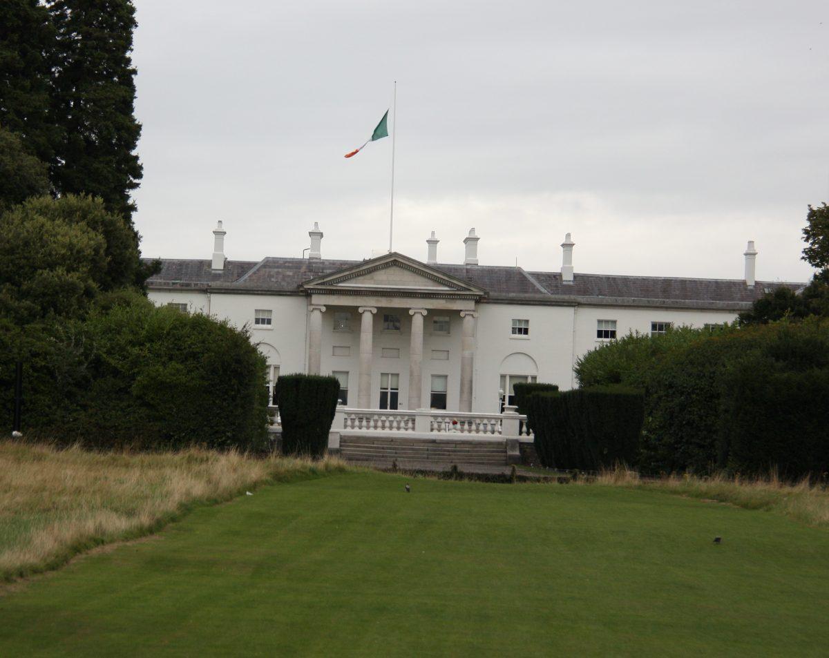 Dublin Ireland Presidential Residence