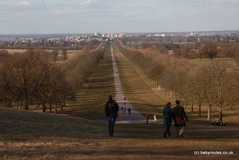 The Long Walk of Windsor