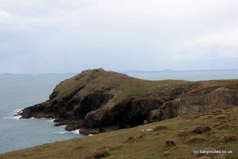 Wooltack point, Martin's Haven seals and islands walk, Baby Routes, Pembrokeshire