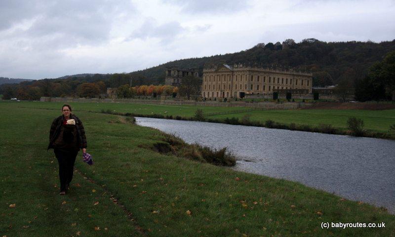 Chatsworth House walk, Peak District