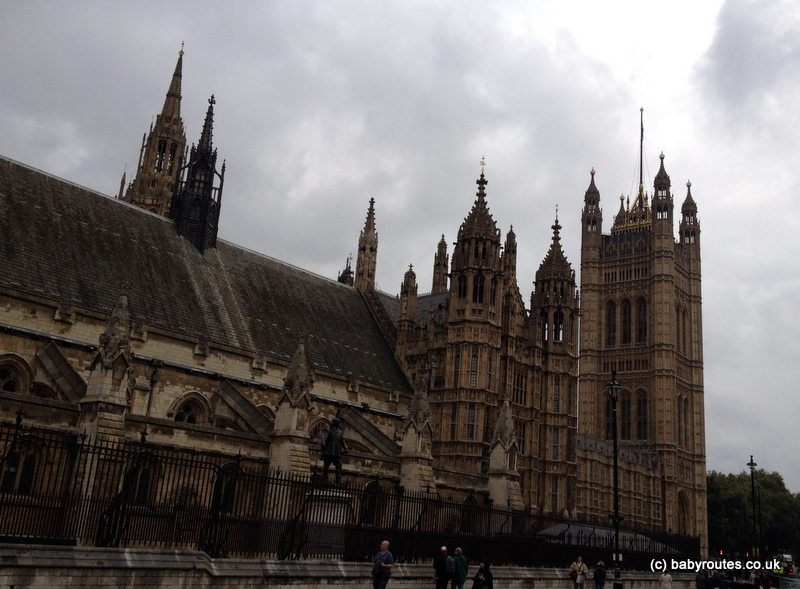 Houses of Parliament, London, Baby Routes Sightseeing Walk