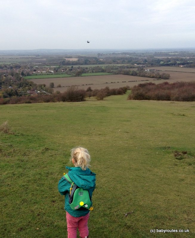 Watlington Hill Walk, Oxfordshire