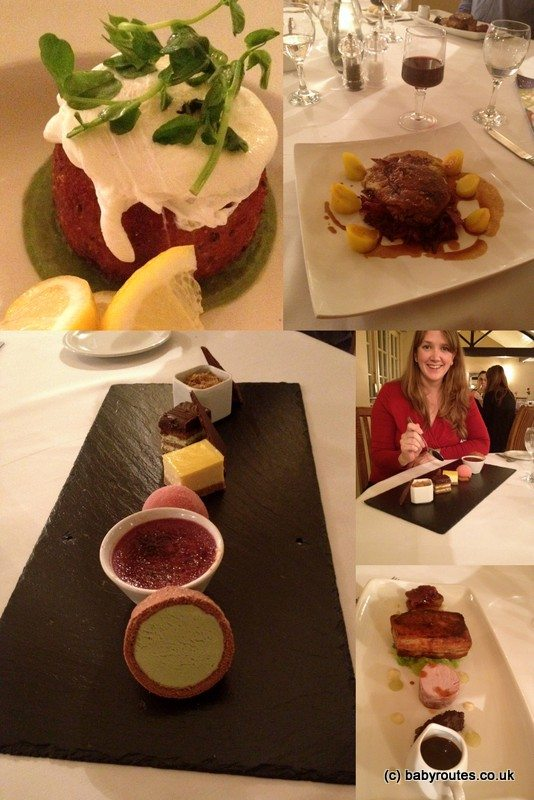 Ox Pasture Hall Hotel, restaurant