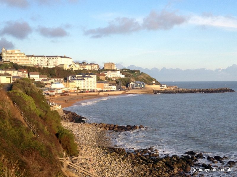 Ventnor,Isle of Wight, Baby Routes