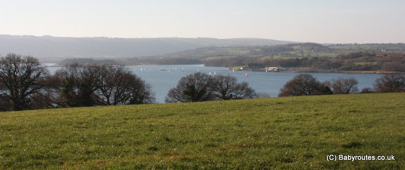 Knowle Hill view across Chew Valley Lake