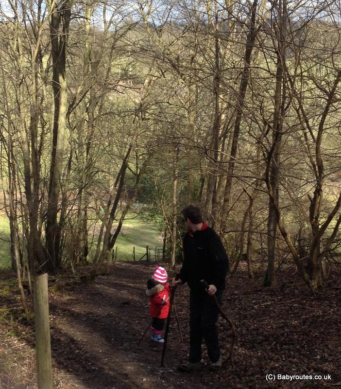 Swyncombe snowdrops walk, Oxfordshire, Baby Routes
