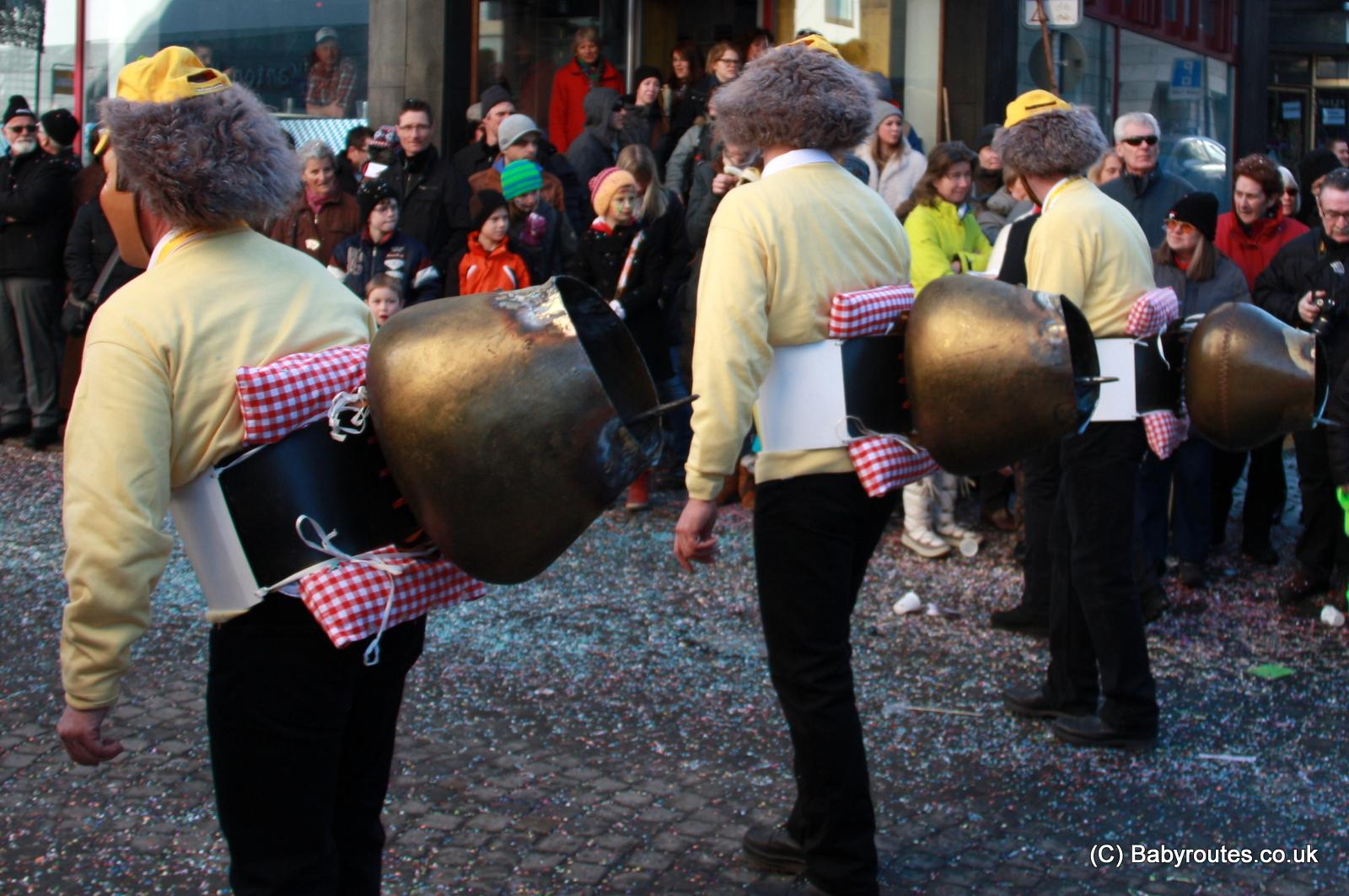 Fasnacht parade, Einsiedeln, Switzerland