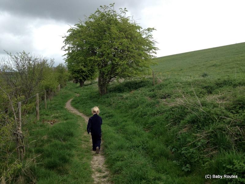 Ogbourne St. George Ridgeway & Railway Walk, Baby Routes